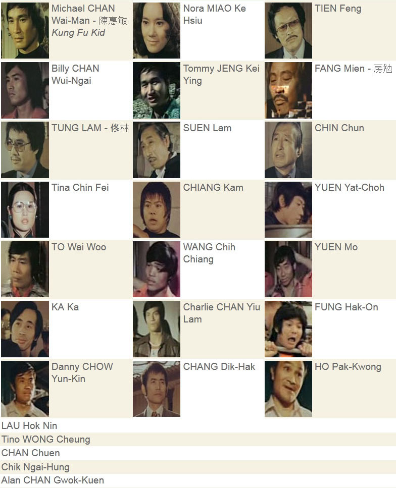 cast kungfukid