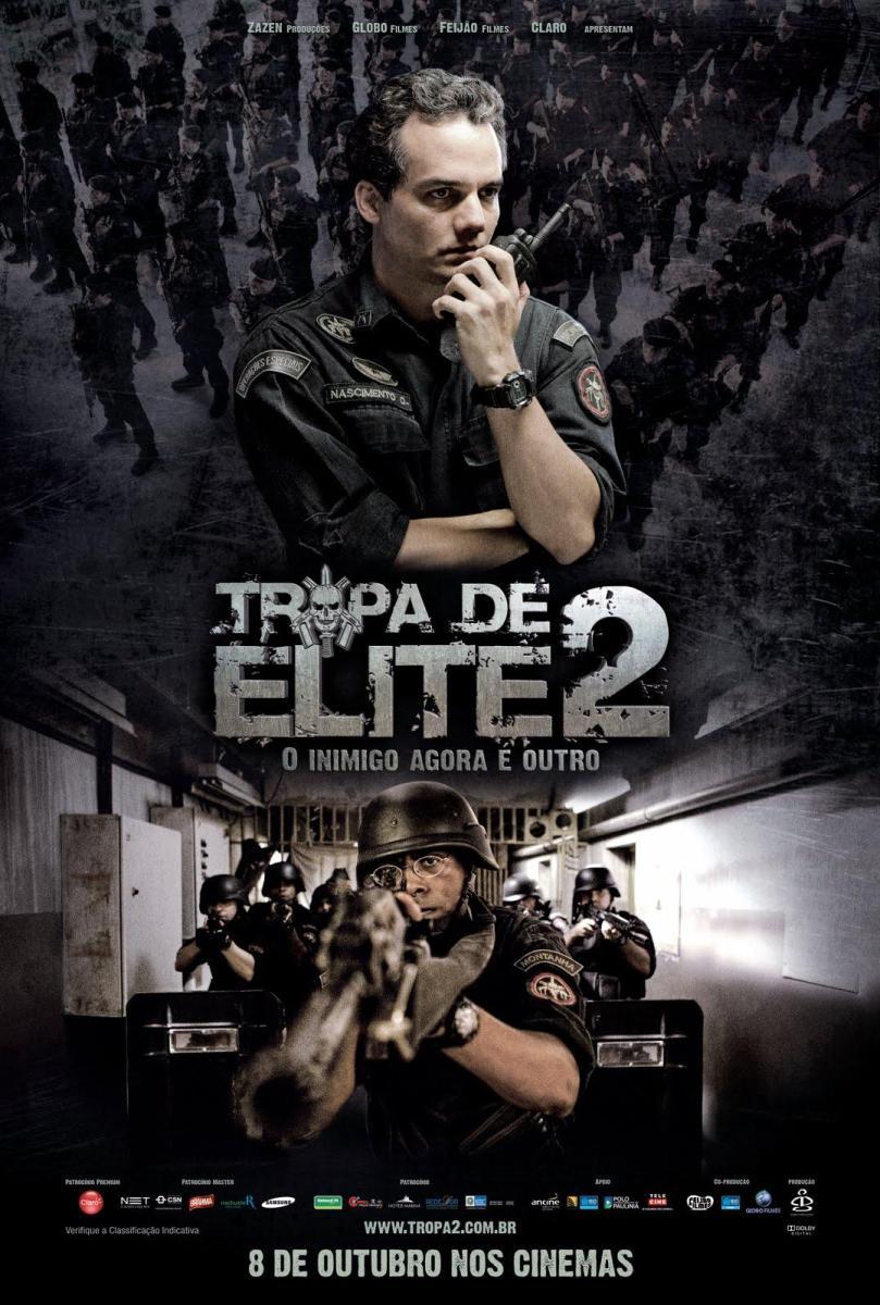 Troupe d'élite : L'Ennemi intérieur (Tropa de Elite 2 : O Inimigo Agora É Outro) 2012