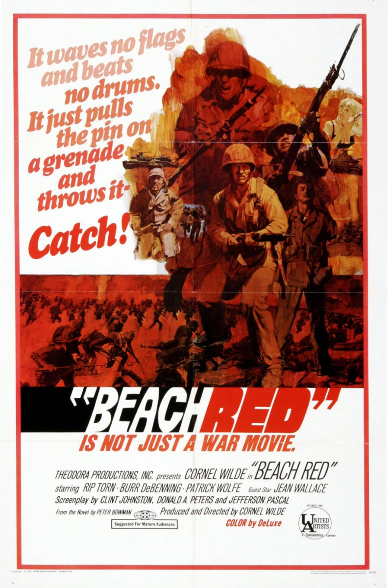 Le sable était rouge (Beach Red) 1967