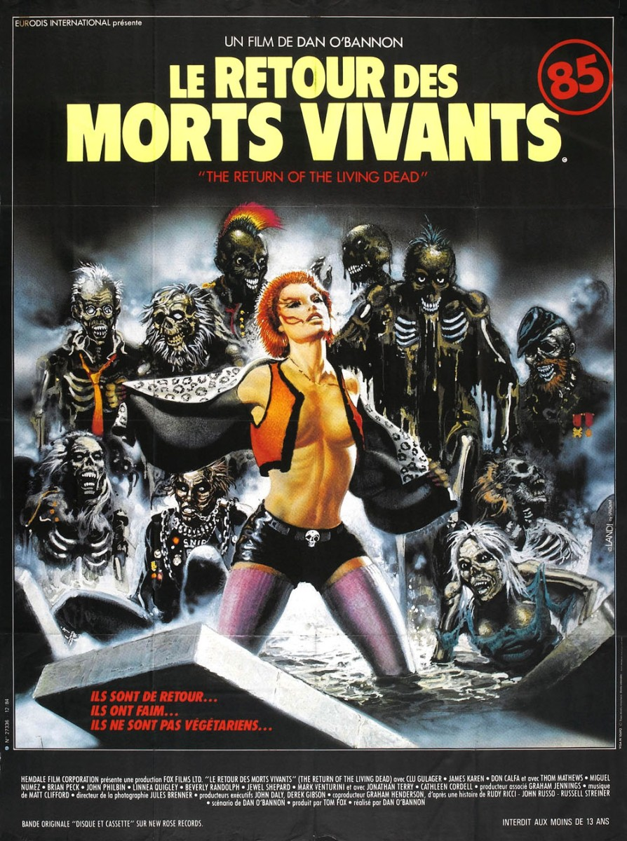 Le retour des morts vivants (Return of the living-dead) 1985