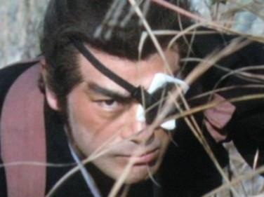 Sonny Chiba (Yagyu Jubei) dans Le samouraï et le Shogun (1978)