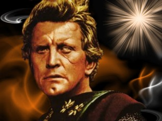 Einar (Kirk Douglas) dans Les Vikings