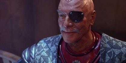 General Chang (Christopher Plummer) dans Star Trek VI : terre inconnue