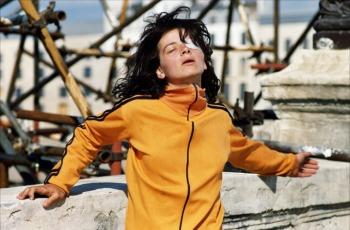 Juliette Binoche dans Les amants du Pont-Neuf