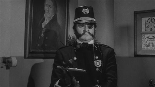 L'inspecteur Hans Wilhelm Friederich Kemp (Kenneth Mars) dans Frankenstein Junior