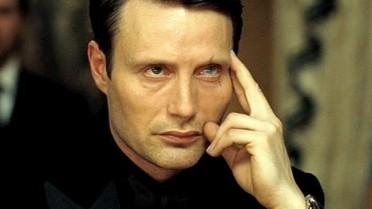 """Le chiffre (Mads Mikkelsen) dans """"Casino Royale"""""""