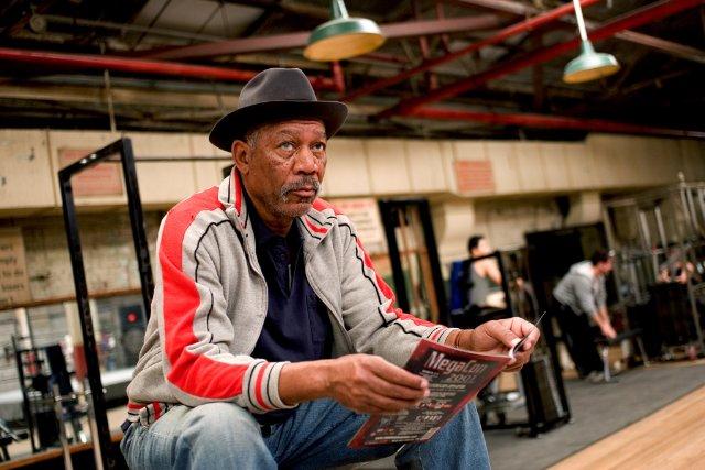 Eddie Scrap – Iron Dupris (Morgan Freeman) dans Million Dollar Baby
