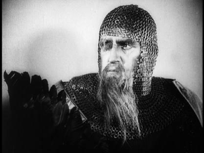 Hagen von Tronje (Hans Adalbert Schlettow) dans Les Nibelungen