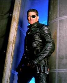 Nick Fury (David Hasselhoff) dans Nick Fury (1997)