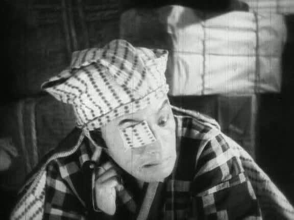 Le faux Osen dans Le chevalier voleur (1931)