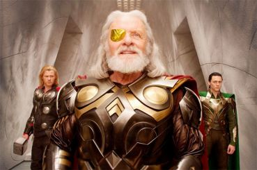 Odin (Anthony Hopkins) dans Thor