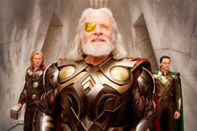Odin (Anthony Hopkins) dans Thor