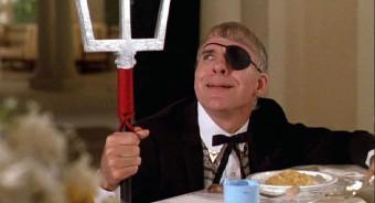Ruprecht (Steve Martin) dans l'excellent Le plus escroc des deux