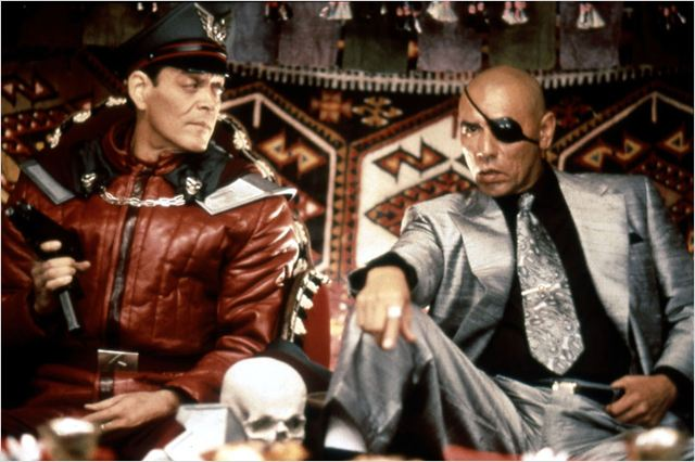 Sagat (Wes Studi) dans Street Fighter : le film