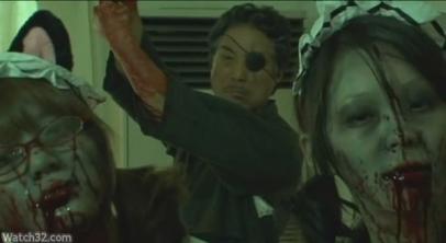 Le grand-père dans Zombie Hunter Rika