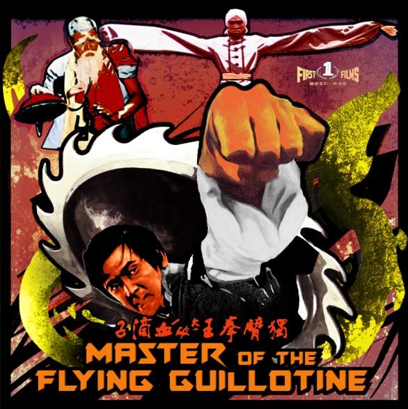 Le bras armé de Wang Yu contre la guillotine volante