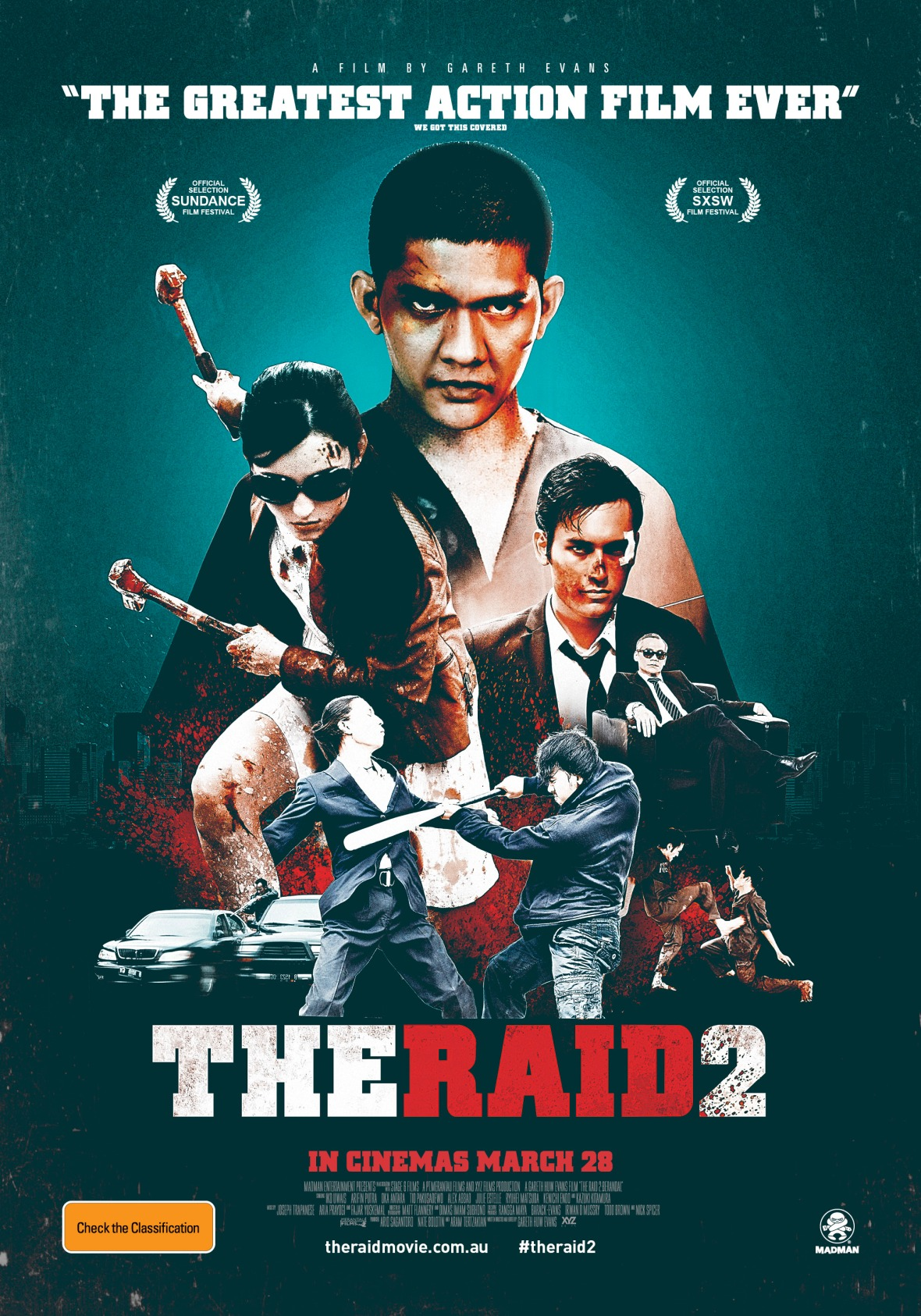 theraid2australianposter