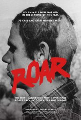 FOR SUNDAY PULSE - FILM POSTER CAPTION: ROAR-Injury_Poster-5: Cinematographer Jan de Bont was scalped while filming Roar. After his scalp was reattached with more than 120 stitches, he completed shooting the film. From Drafthouse Film's Roar. Courtesy of Drafthouse Films.