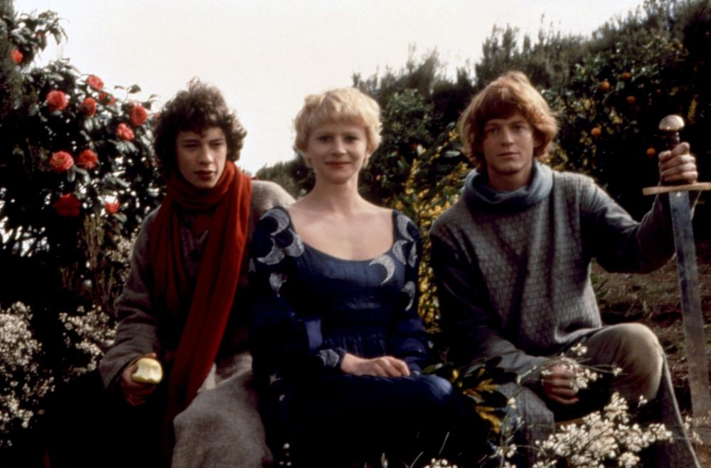 LIONHEART, Dexter Fletcher, Nicola Cowper, Eric Stoltz, 1987, (c)Orion Pictures