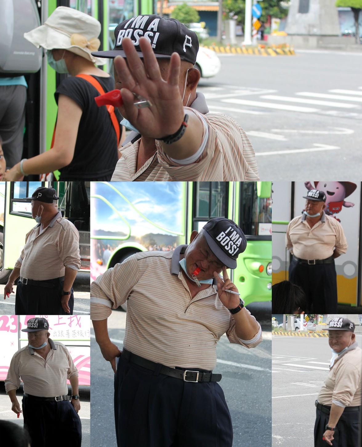 Si vous passez par la gare de Chiayi et que vous entendez des coups de sifflet particulièrement fort, vous pourrez surement admirer le Boss de Chiayi à l'oeuvre.